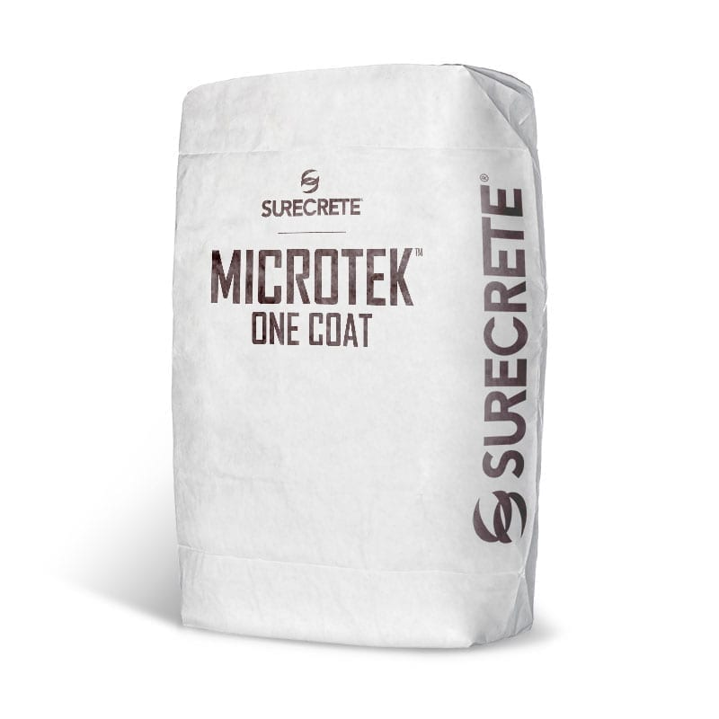 Thin Concrete Overlay Micro Topping Smooth Tight Troweled MicroTek™ One Coat
