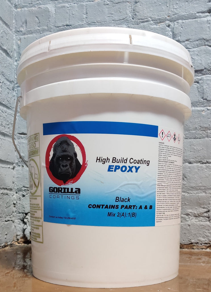 Gorilla Coatings NP707 High Build 100% solids Epoxy Coating