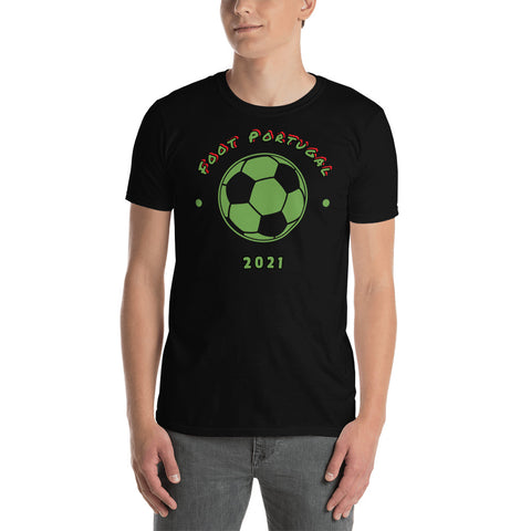 Foot Portugal 2021 t-shirt unisexe