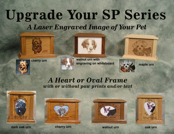 SP Series- Laser Engraved Image Of Your Pet