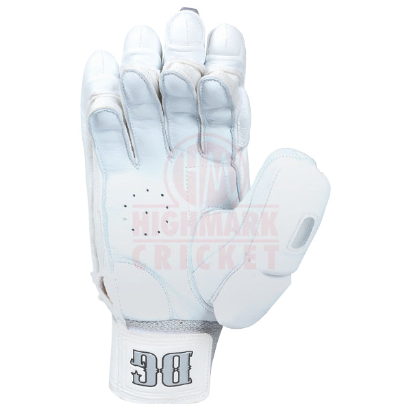 CA DG Dragon White Batting Gloves - Highmark Cricket