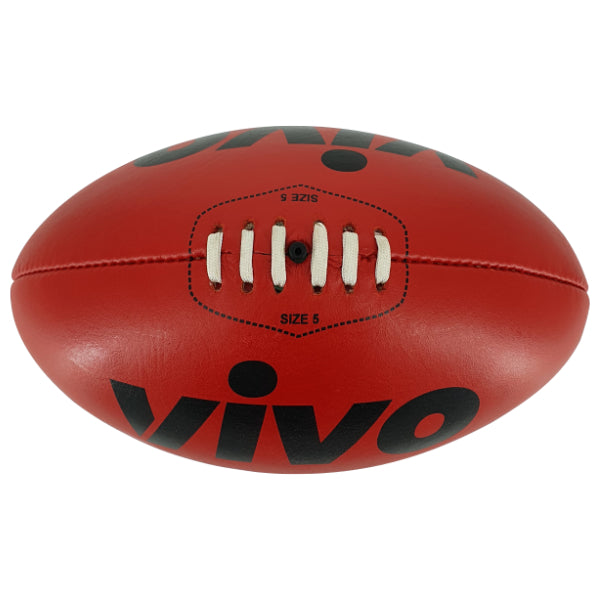 VIVO Genuine Leather Aussie Rules Ball - Highmark Cricket