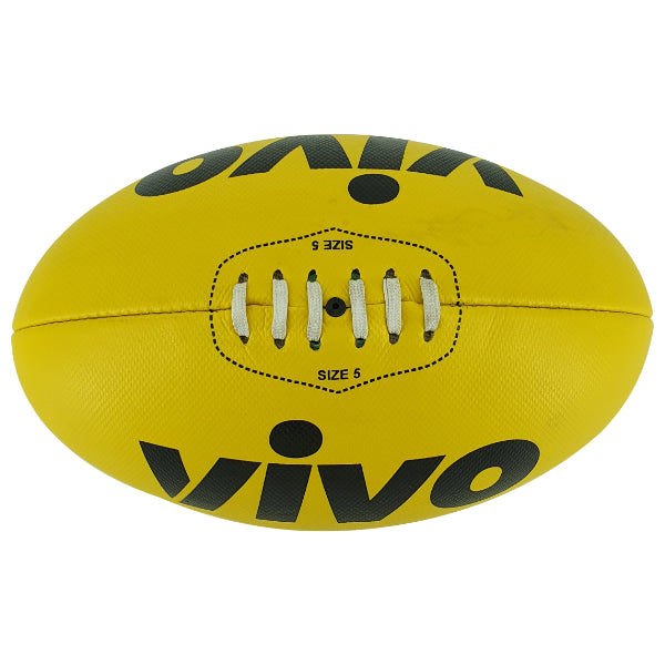 VIVO Synthetic Leather Aussie Rules Ball - Highmark Cricket