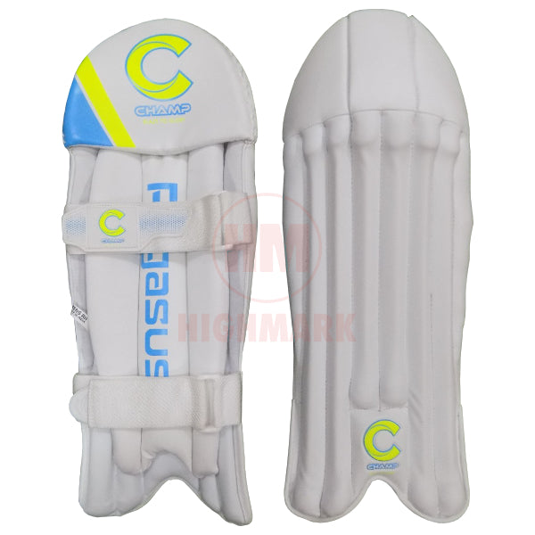 Champ Pegasus Wicket Keeping Leg Guards - Highmark Cricket