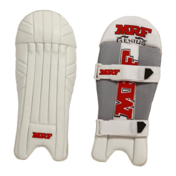 MRF Genius LE Wicket Keeping Leg Guards - Highmark Cricket