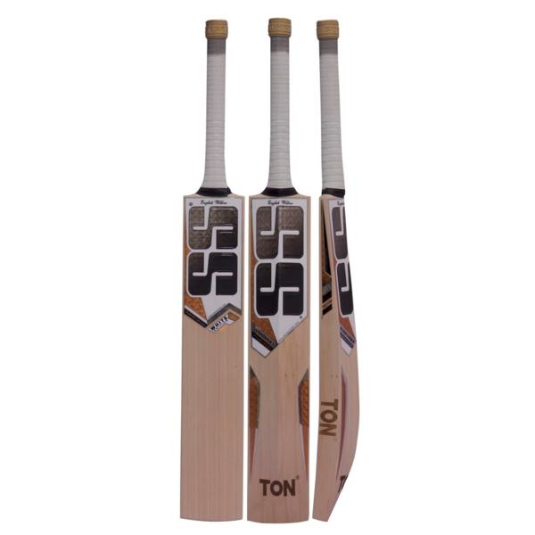 SS White Edition Gold Cricket Bat - Highmark Cricket