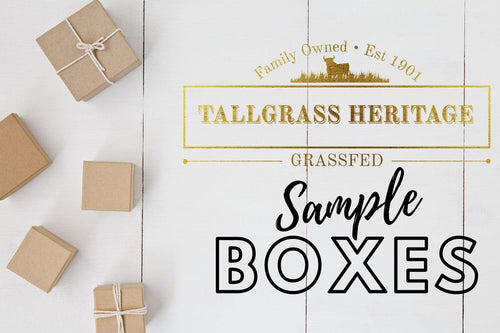 Tallgrass Beef Sampler Box