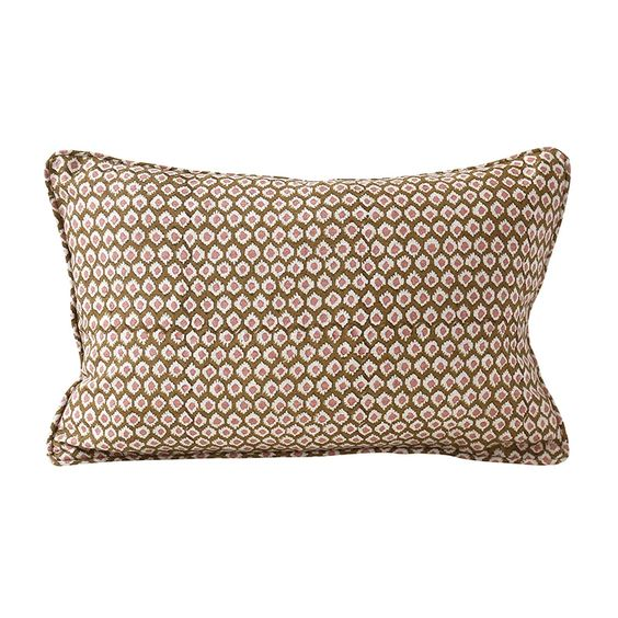 Patola Throw Pillow