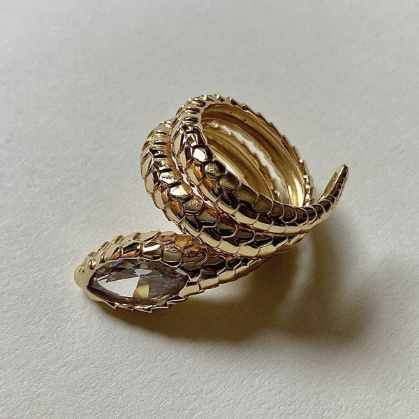 Kiara Snake Diamond Ring