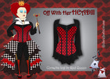 Off with her HEAD!!! A Red Queen Costume