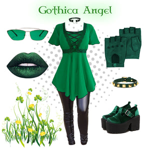 How to be Goth & Green on St Patrick's Day ☘️