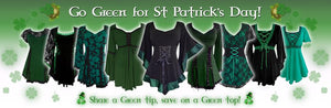 Going Green (again!) for St. Patrick's Day
