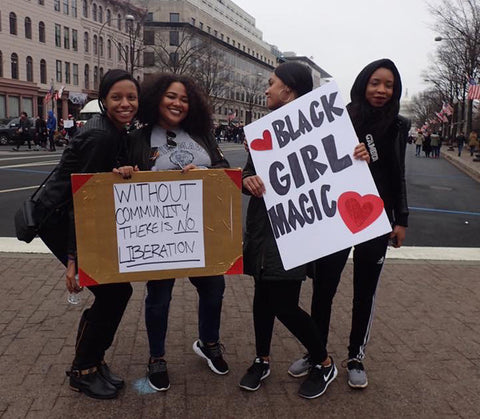 Black Girl Magic - Women's March 2017