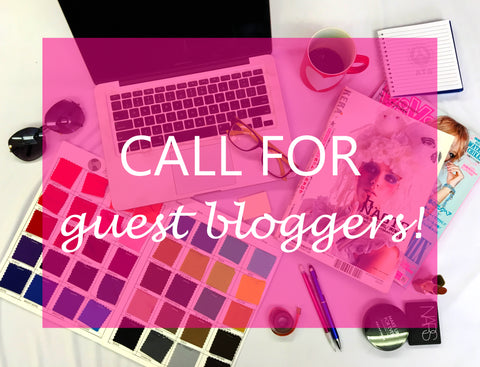 Call for guest bloggers!