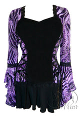 Dare to Wear Bolero Top in Wild Purple