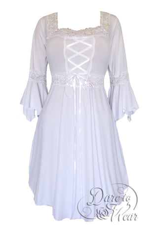 Dare to Wear Renaissance Dress in Icing