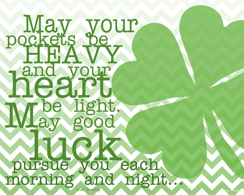Irish Luck Proverb