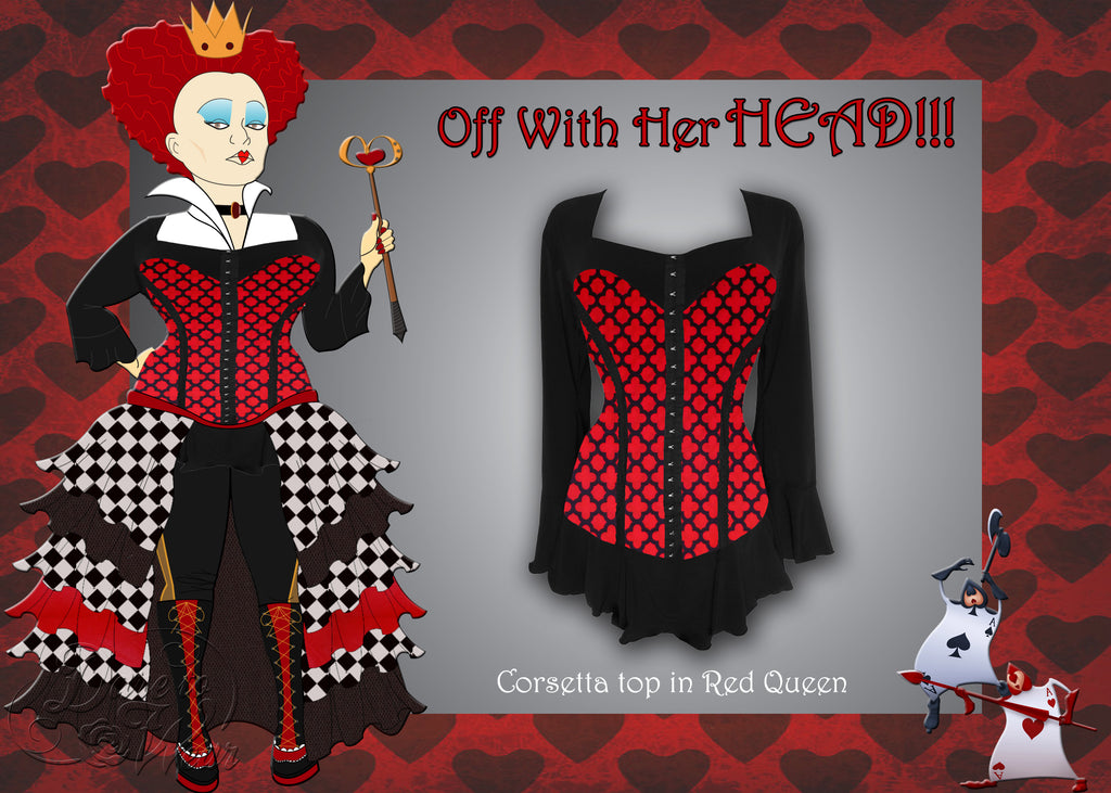 Dare Fashion - Queen of Hearts