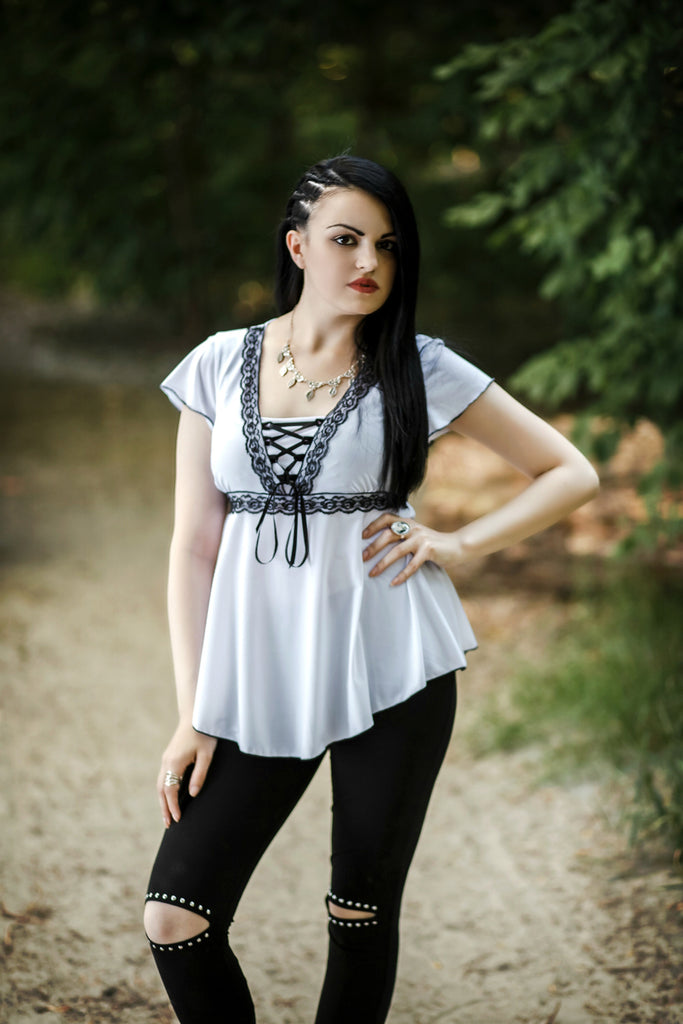 Dare Fashion - Black & White Look