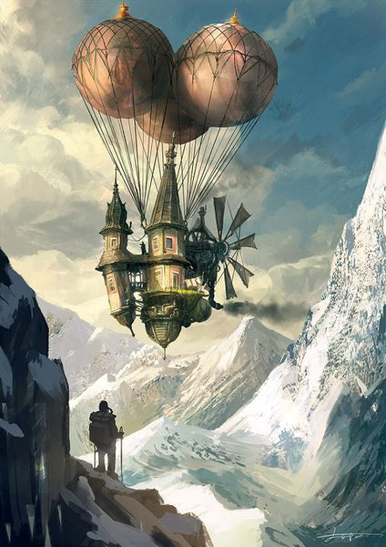 Dare Fashion Steampunk Airship