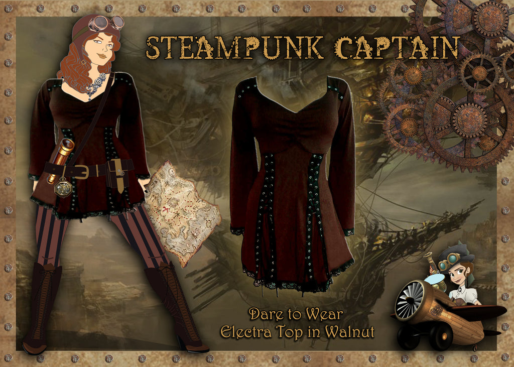 Dare Fashion Steampunk Costume Ideas