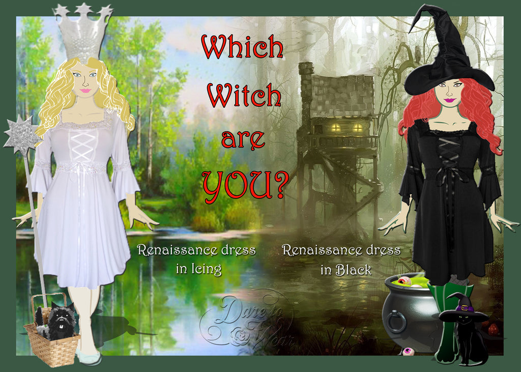 Which Witch - Dare to Wear Renaissance Dress