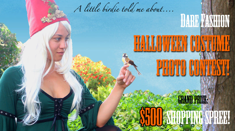 Dare Fashion Halloween Costume Contest - Grand Prize: $500 Shopping Spree