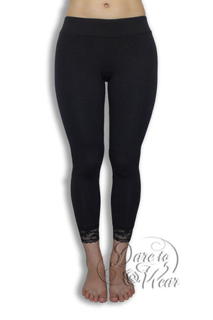 Dare To Wear Victorian Gothic Women's Harmony Leggings Black