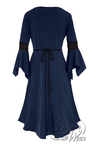 Renaissance Dress in Midnight