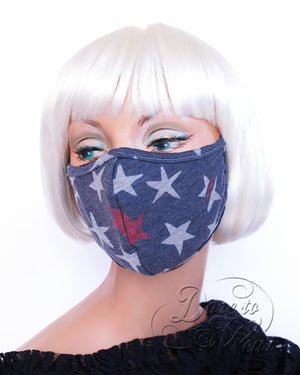 Dare Fashion Kiss Mask M02 Freedom Victorian Gothic Cloth Face Cover