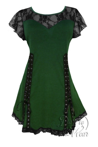 Dare To Wear Victorian Gothic Women's Roxanne Corset Top Envy
