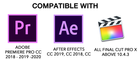 Compatible With Adobe Premiere Pro After Effects Final Cut Pro