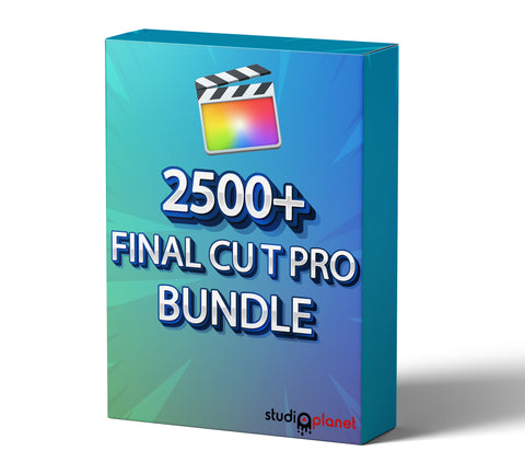 2500+ Final Cut Pro Bundle