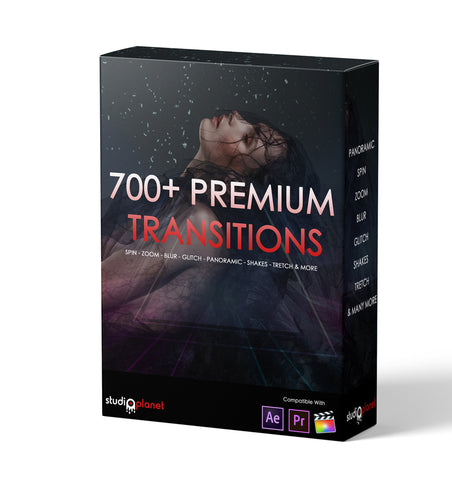 700+ Premium Video Transitions