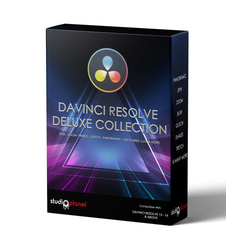DaVinci Resolve Deluxe Collection