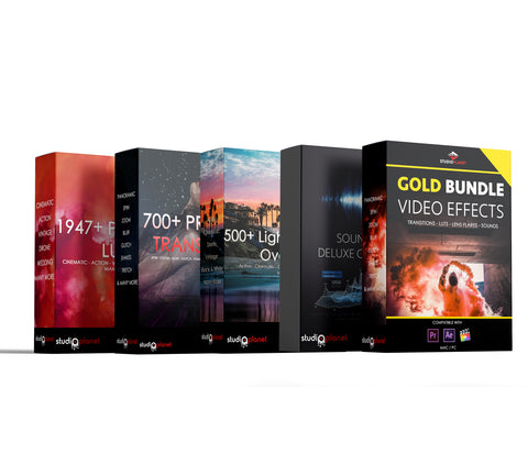 Gold Bundle - Video Effects