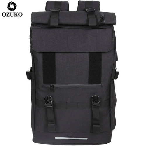 OZUKO New 40L Large Capacity Travel Backpacks - JUWOW