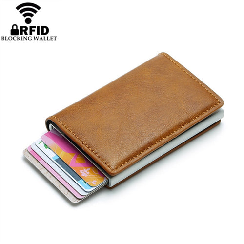 RFID Smart Wallet Business Card Holder - JUWOW