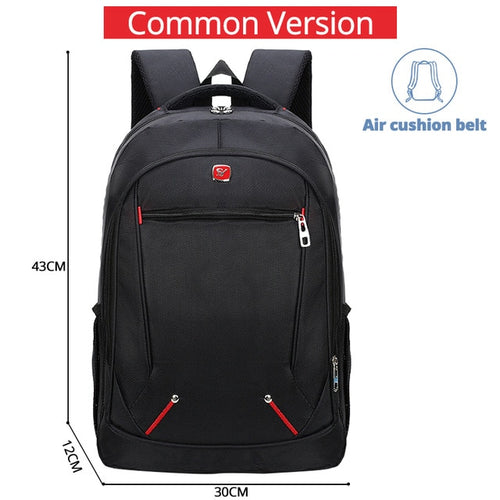 Waterproof Solid Large Backpack - JUWOW