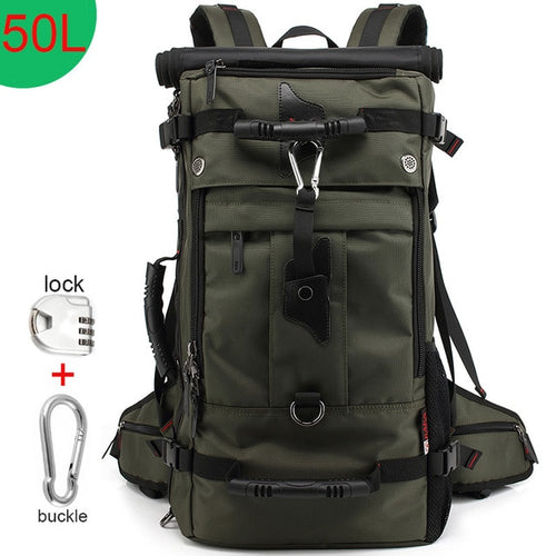 KAKA 50L Waterproof Travel Backpack Men Women - JUWOW