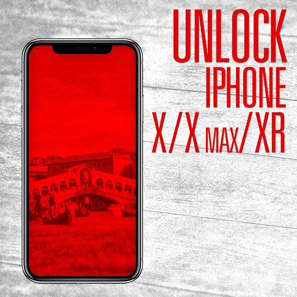 Unlock Iphone X-XR-XMAX