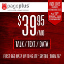 Page Plus 30-Day Plans 39.95