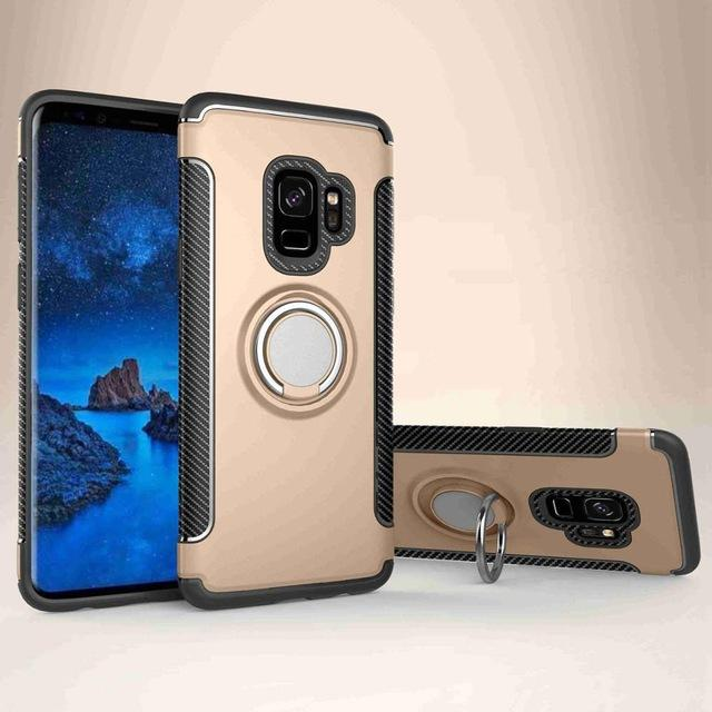 Armor Ring Galaxy S9 Plus Gold