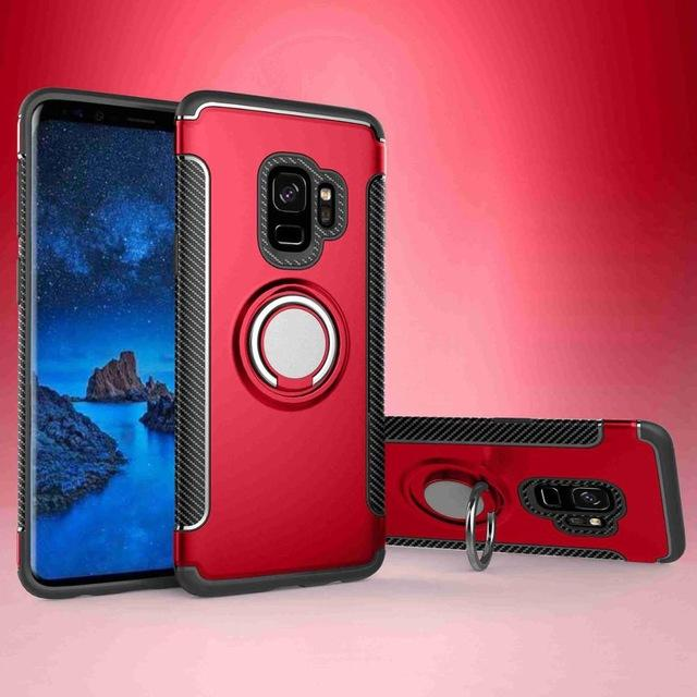 Armor Ring Galaxy S9 Plus Red
