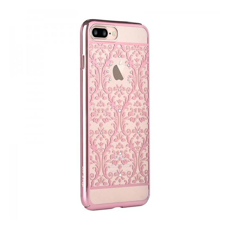 Crystal Baroque for iPhone 7Plus rose gold