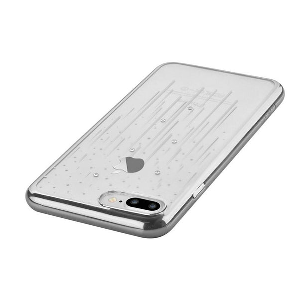 Crystal Meteor soft case for iPhone 7Plus Silver
