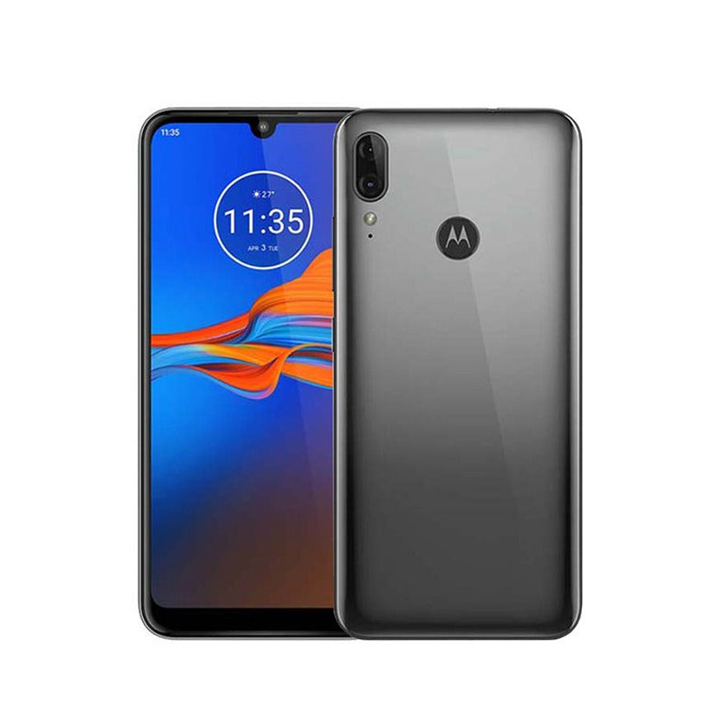 Motorola E6 Plus Gun Metal