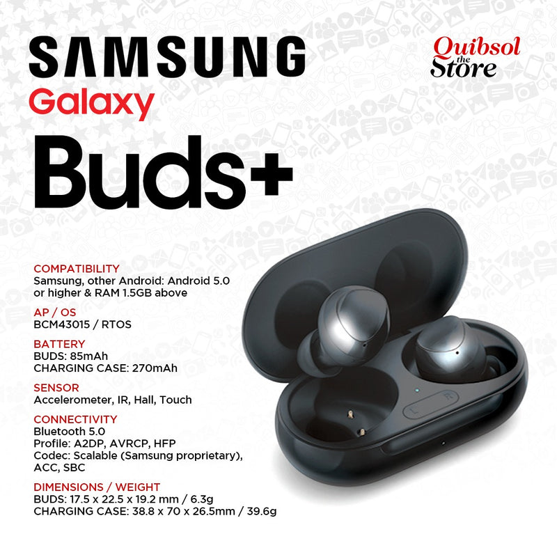 Galaxy Buds+ Plus 2020 Headset SM-R175 Spec