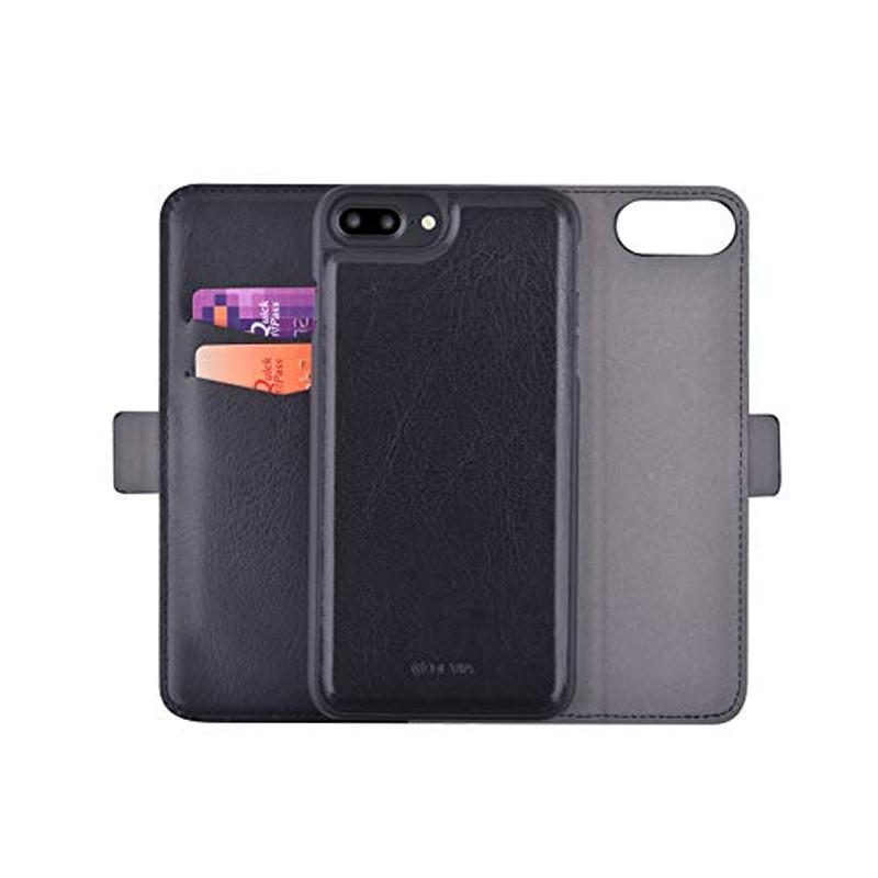 Flip Wallet Case with Picture ID and Credit Card for Iphone 8 Plus