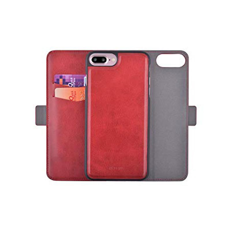 Flip Wallet Case with Picture ID and Credit Card for Iphone 8